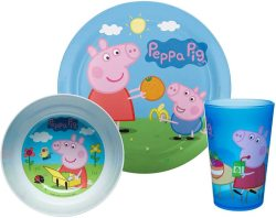 Peppa Pig - Tableware Set 3 Piece Set