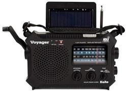 KA500L 4-WAY Powered Emergency Am fm sw Noaa Weather Alert Radio With Solar Dynamo Crank Flashlight And Reading Lamp With Larger