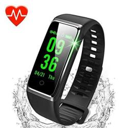 Dawo Fitness Tracker Color Screen Activity Tracker With Heart Rate Monitor Watch IP67 Waterproof Fitness Watch With Female Physiological Reminder Sl