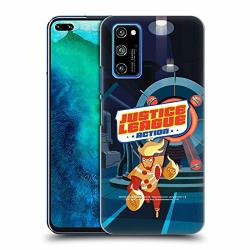 Official Justice League Action Firestorm Character Art Hard Back Case Compatible For Honor V30 Pro view 30 Pro