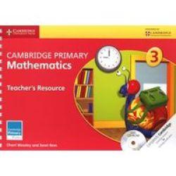 Cambridge Primary Mathematics Stage 3 Teacher's Resource With Cdrom