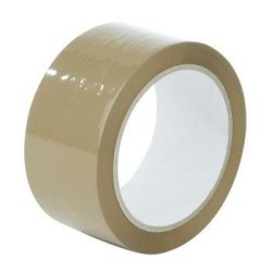 Brown Buff Packaging Tape 48MM X 50M Large Core Per 1