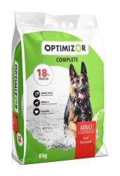 OptiMizor - Complete Dry Dog Food - Beef 8KG 18% Protein