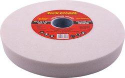 Tork Craft Grinding Wheel 200x25x32mm Bore Fine 60gr W bushes For B g White