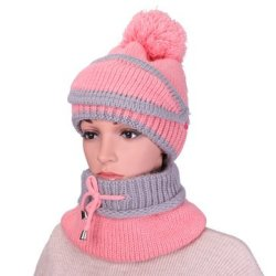 Zcargel Knitted Wool Cap Warm hat Plus Velvet Winter Mens Outdoor hat