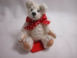 World Of Miniature Bears Collectible Handmade Miniature Bear Lambie Pie 822