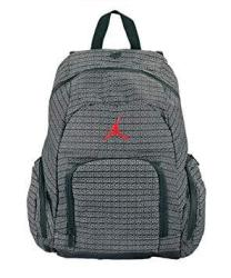 e485a8a59d1629 Nike Jordan Jumpman 23 Black School Book-bag Laptop Sleeve Backpack ...