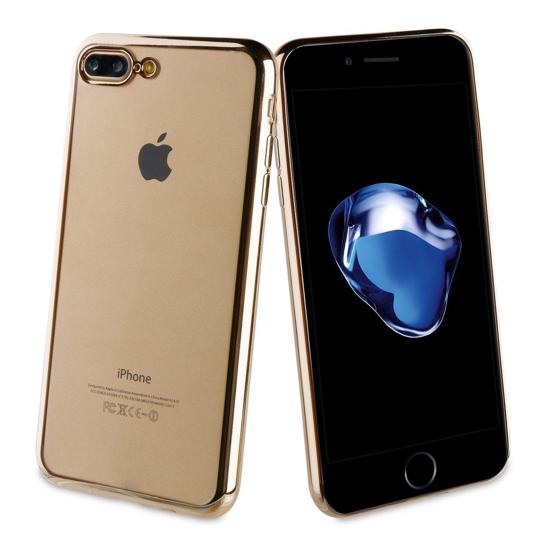 Muvit Bling Case iPhone 7 Plus in Rose Gold