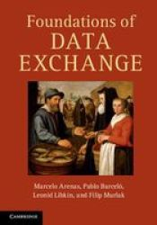 Foundations Of Data Exchange hardcover