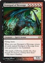 Magic The Gathering - Demigod Of Revenge - Modern Masters - Foil