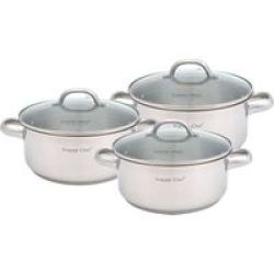 Snappy Chef Budget Cookware Set - 6 Piece