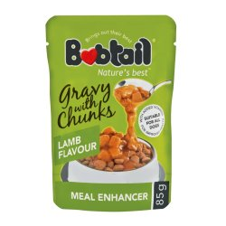 Bobtail - Dog Food Gravy With Chunks 85G Lamb