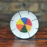 African Color Wheel African Grater Plate