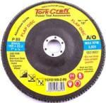 Tork Craft Flap Disc 180mm 15 Deg.angle 80grit