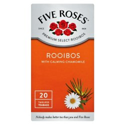 Five Roses Tagless Teabags Chamomile 20 Pack
