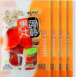 Fat Free Squeezed Konjac Fruit Jelly Mango 4 Packs