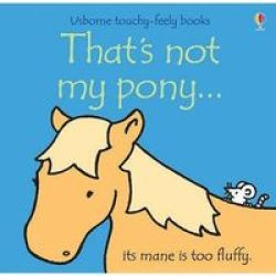 That's Not My Pony Board Book