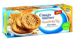 Groceries Weight Watchers Oat Digestive Biscuits 114G