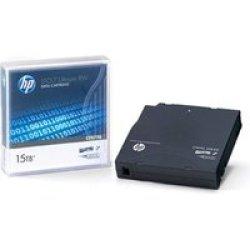 HP E LTO-7 Ultrium 15TB Rw Data Cartridge
