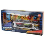 ADVENTUREFORC - Car Carrier Truck With 12 Cars