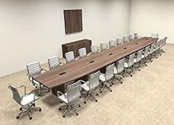 Modern Boat Shaped 26' Feet Conference Table OF-CON-C99