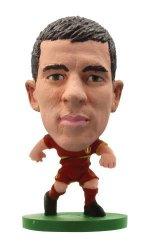 Soccer Stars SOCCERSTARZ Soccerstarz Belgium International Figurine Blister Pack Featuring Eden Hazard Home Kit Import Version