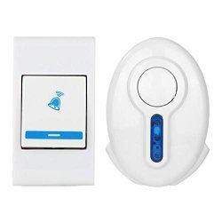 Smart Video Doorbell Wireless Home Wifi Security Camera 38 Tune Chimes Songs Wireless Doorbell Remote Control Door Bell Transmitter
