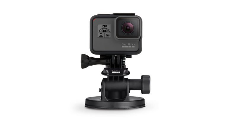 GoPro Suction Cup with QR