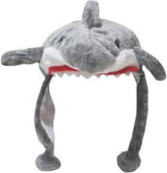 USA Petitebella Grey Shark Warm Hat Unisex Free Size