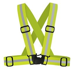 360 USA Inc. 360 Usa - Reflective Running Vest - Neon Yellow