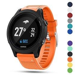 For Garmin Ysang Forerunner 935 Gps Accessory Watch Band 22MM Width Soft Silicone Quick Install Sport Watch Strap Bracelet Wristband Forerunner 935 Gps Smart Watch