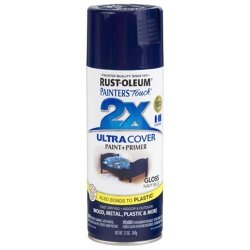 RUST-OLEUM 249098 Painter's Touch Multi Purpose Spray Paint 12-OUNCE Navy Blue