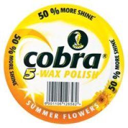 Cobra Wax Polish Summer Flower 350ML