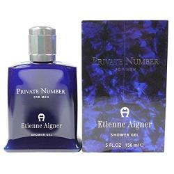 Private Number By Etienne Aigner For Men Shower Gel 5 Oz. New In Box