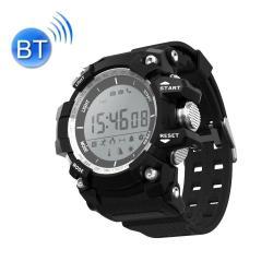 XR05 30M Waterproof Bluetooth Smart Sport Health Watch Support Pedometer Calls To Remind Sleep Monitoring Remote Capture Altitude Air Pressure Temperature Uv Monitor Black