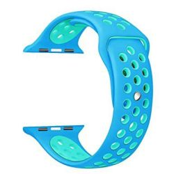 42MM Hole Band For Apple Watch - Blue Size: S m