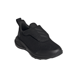 Adidas Kid's Fortarun Ac-k Running Shoes - Black grey