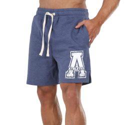 Athletico Medium Mens A-Logo Shorts in Navy & White