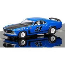 Scalextric - Ford Mustang Boss 302 - 1969 Trans-am Championship Ed Hinchliff Slot Car