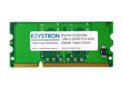 Keystron, LLC 256MB DDR2 16BIT 144PIN Memory Upgrade For Brother Laser Printer HL-L8250CDN HL-L8350CDW HL-L8350CDWT