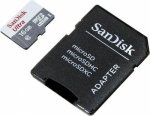 SanDisk Ultra Android Microsdhc + Sd Adapter 16GB 80MB S Class 10