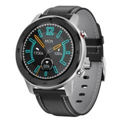 DT78 C23 1.3 Inch Full Circle Full Touch Smart Sport Watch IP68 Waterproof Support Real-time Heart Rate Monitoring Sleep Monitoring Bluetooth Black Silver