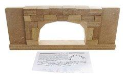 "American Educational Precision Cut Wood Roman Arch Model 17-1 2"" Length X 2"" Width X 7"" Height"