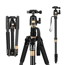 Afaith Tripod For Dslr Camera Ultra Compact And Lightweight Aluminum Travel Tripod With 360 Panorama Ball Head Quick Release Plate For Canon Nikon