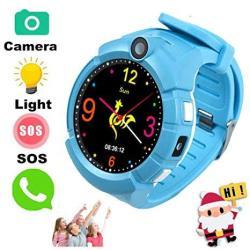 JUNEO Tkstar Smartwatch With Camera For Kids Anti-lost Sos Apgs lbs Camera Wrist Watch Pedometer Timer Watch Activity Tracker Sa