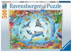 Cave Dive 500 Piece Puzzle