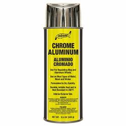S. M. Arnold Chrome Aluminum Spray Paint Lacquer 66-106 12. Fluid_ounces