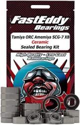 USA Tamiya Orc Amemiya SCG-7 Xb TT-01E Ceramic Sealed Bearing Kit