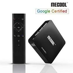 Android 9.0 Tv Box Mecool KM8 Tv Box With Google Certified 2GB RAM 16GB Rom Quad Core Android Box Support Voice Remote Chromecas