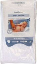 Snuggletime Quick Dry Baby Bather White